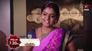 Deepa is back!!! #KarthikaDeepam Today at 7:30 PM on @StarMaa