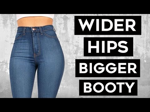 💜How To Get Wider Hips and Bigger Glutes | 4 Super Moves For Sexy Glutes & Hips