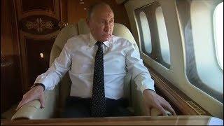 Presiden Vladimir Putin Di Kawal Jet T3mpur Menuju Suri4h!!