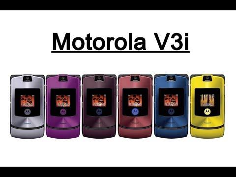 Review : Motorola V3i (Refurbished) เมนูไทย