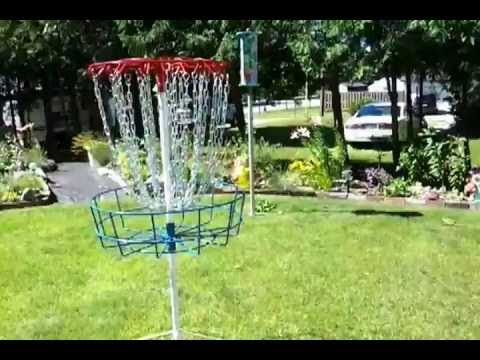 New homemade discgolf basket innovation.