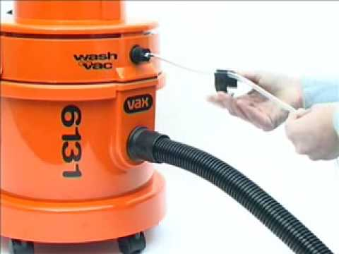 Convert Vax 6131 Dry Vacuum Cleaner to Wet Washer