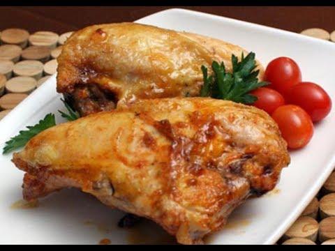 Seasoned Honey Baked Chicken Breasts