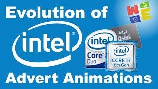 EVOLUTION OF (ADVERT) INTEL ANIMATION (1971-2020)