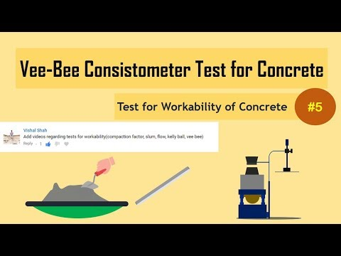 Vee-Bee Consistometer Test for Concrete || Test for Workability of Concrete #5