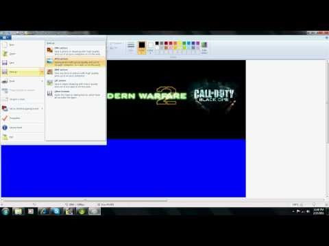 How to make Xbox 360 Themes using Paint