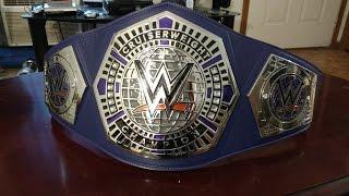 WWE CRUISERWEIGHT CHAMPIONSHIP REPLICA!