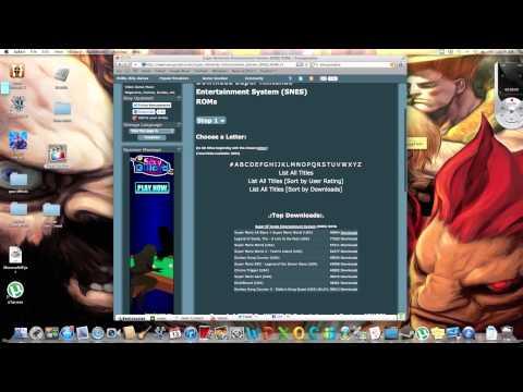 How to get snes emulator on mac