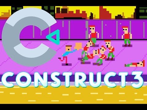 Construct 3 Example  - Making Your First Game -  #1