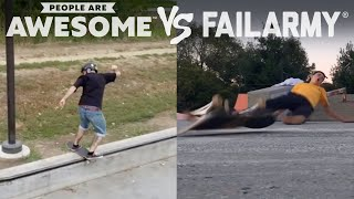 Wins Vs. Fails | People Are Awesome Vs. FailArmy