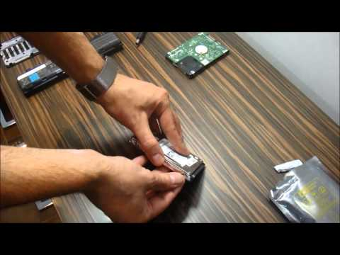 How to replace a Hard Drive on new Toshiba Laptop Models