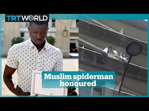 'Muslim Spider-Man' who saved four-year-old will get French citizenship
