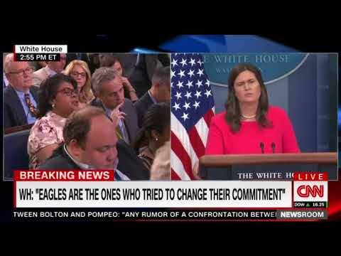 Sarah Huckabee Sanders Shuts Down April Ryan's 'Rude' Interruptions on NFL Protests