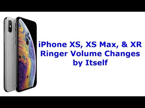 iPhone XS, XS Max, and XR Ringer Volume Changes by Itself (Fixed)
