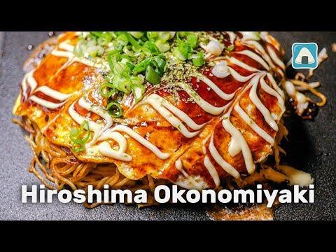 Hiroshima Okonomiyaki (Japanese Savory Pancake)