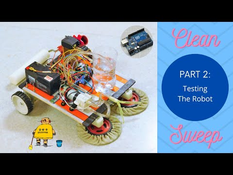CleanSweep: The Floor Cleaning Robot- Part 2   Testing
