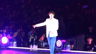 191026 BTS SYS SPEAKYOURSELF Seoul - 뱁새  FIRE JIN FOCUS