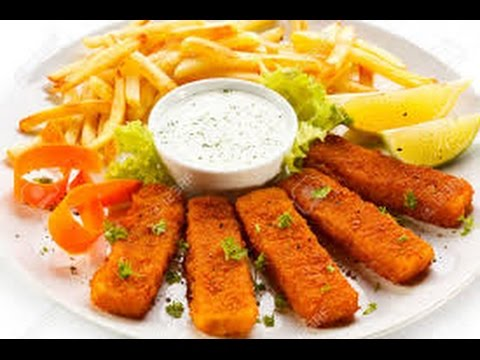 How to make 'Fish Finger with Potato Chips'  Home Cooking CFKO