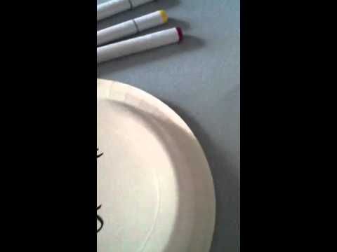 Copic marker- how to remove off your desk