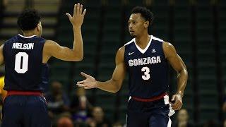 Gonzaga Soars to Win Over Portland