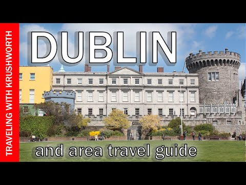 Visit Dublin Ireland (things to do); travel tour guide tourism video