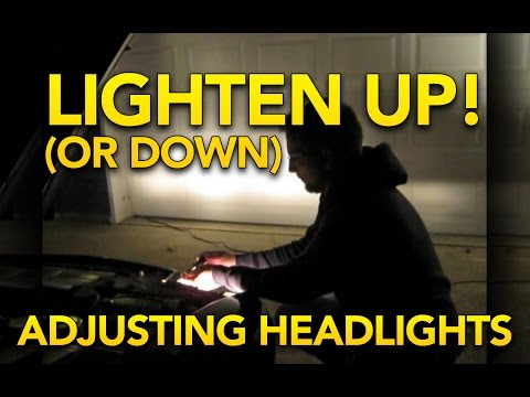 How to level your headlights - Quick and easy - Replacing headlight bulb