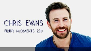 Chris Evans Funny Moments 2014