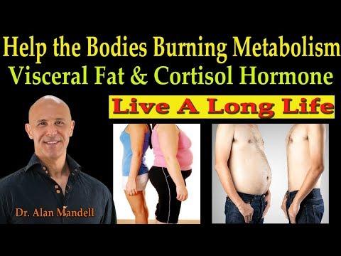 Help the Bodies Burning Metabolism (Visceral Fat & Cortisol Hormone) - Dr. Alan Mandell, D.C.