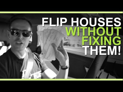 How to Flip Houses WITHOUT Fixing Them (Each Deal Takes 2-4 Weeks)
