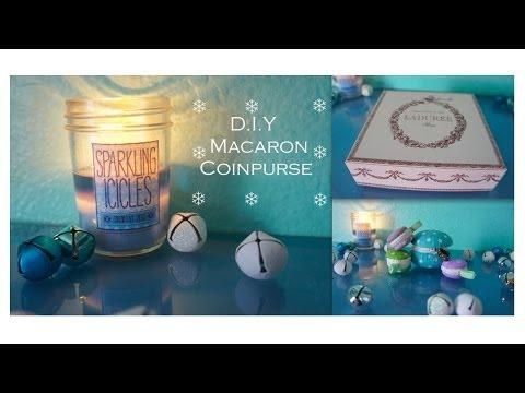DIY Macaron Coin Purse!