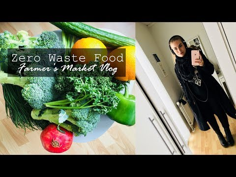 ZERO WASTE FOOD SHOPPING // Plant Based Dishes with Package Free Greens