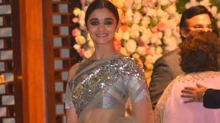 Alia Bhatt At Ambani's Pre-Wedding Celebration