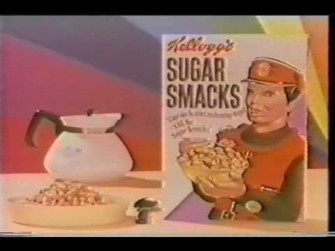 THUNDERBIRDS and CAPTAIN SCARLET adverts for SUGAR SMACKS