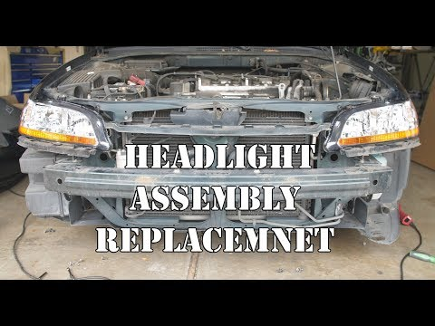 1998-2002 Honda Accord Headlight assembly replacement