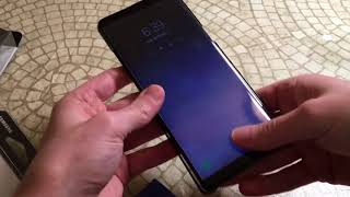 Official Samsung Galaxy Note8 Clear Protective Cover Unboxing and Review