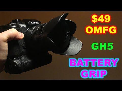 $49 DSTE GH5 Battery Grip