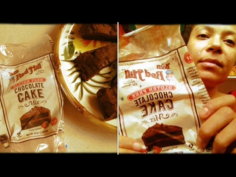 DELICIOUS VEGAN CHOCOLATE CAKE REVIEW!! GLUTEN FREE!! BOB*S RED MILL BRAND :)