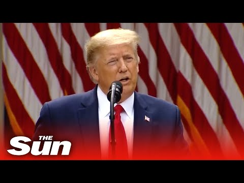 Donald Trump on the Chinese government's move to introduce a security law in Hong Kong - In full