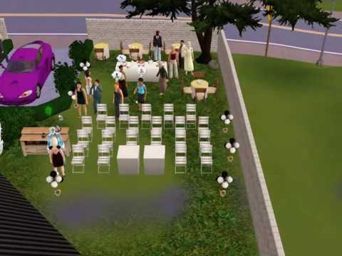 Sims 3: Wedding Video with Ghost fiance