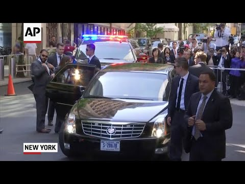 North Korea's Kim Yong Chol Arrives at NY Hotel