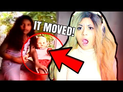 DOLLS MOVING CAUGHT ON CAMERA!!! | SCARY (Reaction)