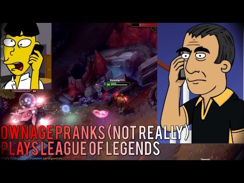 Ownage Pranks plays Blood Moon - League of Legends /w Vesuvia!