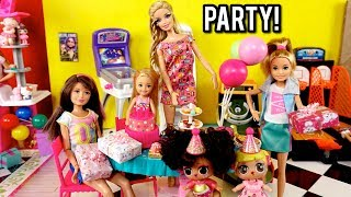 Download Barbie Family Birthday Party at Indoor Playground - LOL Doll Goldie's Big Win! Video
