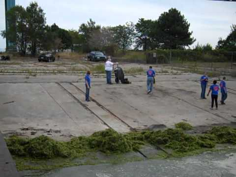 Making the boat ramp usable.MP4