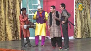 Iftikhar Thakur and Zafri Khan Pakistani Stage Drama Comedy Clip 2018