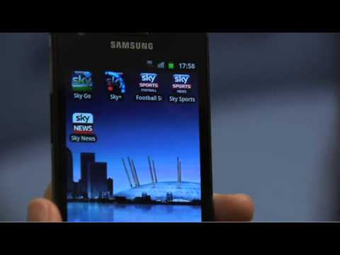 Sky Go for Android Video