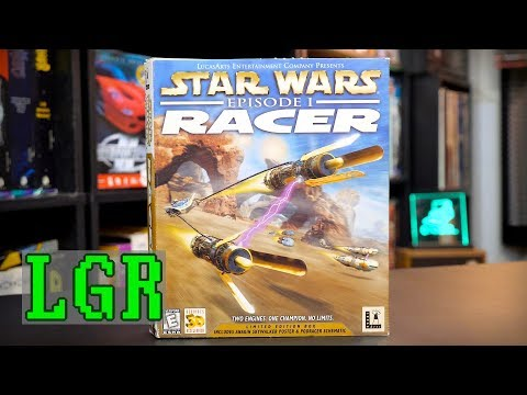 LGR - Star Wars Episode I Racer - PC Game Review