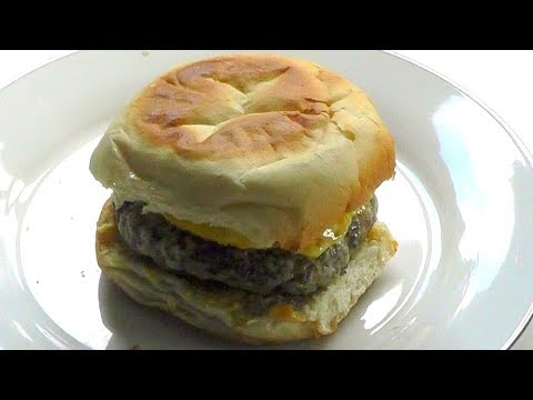 SAUSAGE & EGG MUFFIN How to make a delicious homemade McMuffin recipe