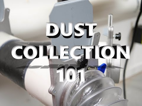 Dust Collection 101 and Converting to 2 Stage Dust Collection
