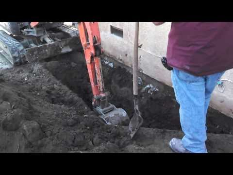 Locating the sewer main